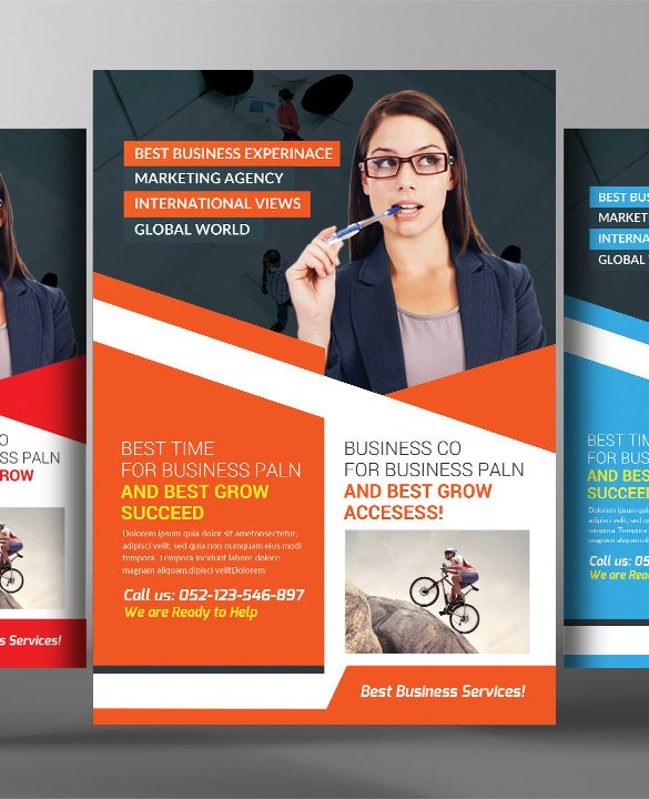 48 business flyer templates psd ai indesign free premium