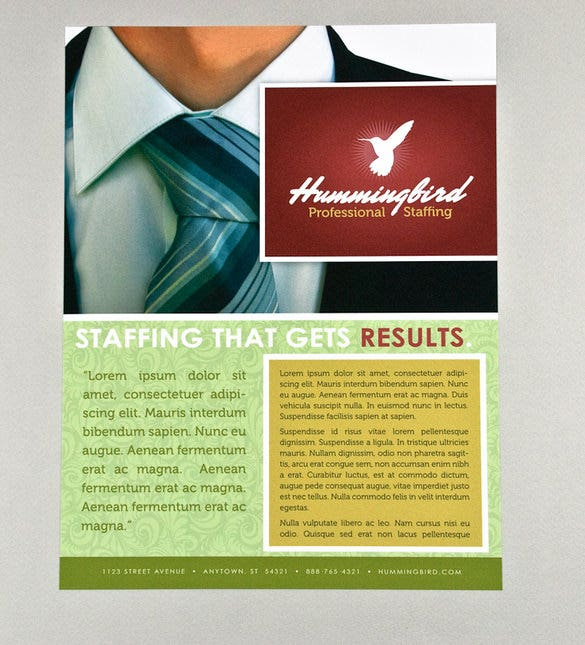 Business Flyer Templates Free PSD Illustrator Format - Professional brochure templates free