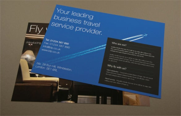 upscale business travel flyer template download