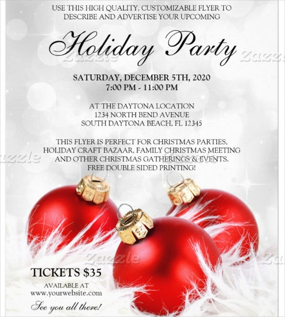 Christmas Holiday Flyer Template