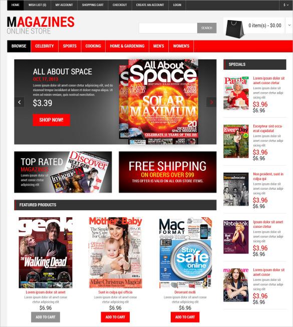 news portal magazine responsive opencart template