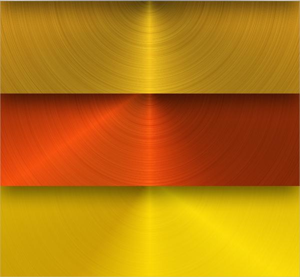 Circular Metal Texture Design