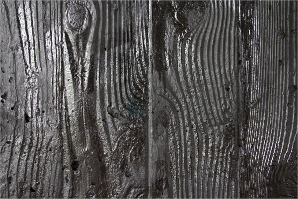 Silver Wooden Wall Texture