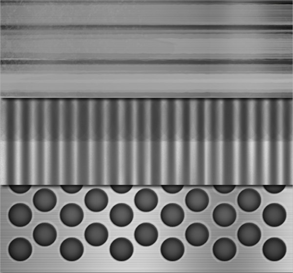 metal texture 2d design