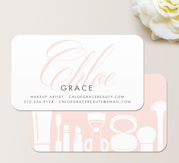 cosmetologist business cards