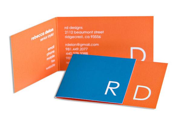 monogram marvel business cards