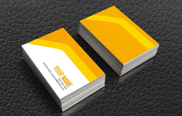 custom abstract business cards