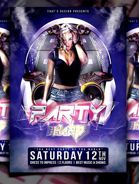 50 Free Flyer Templates Free Psd Eps Format Download Free