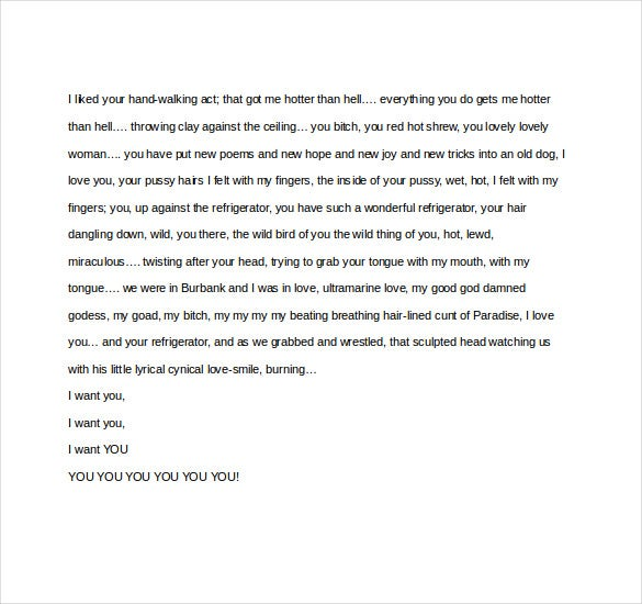 12 famous love letter templates free sample example format charles bukowski love letter to linda king spiritdancerdesigns Image collections