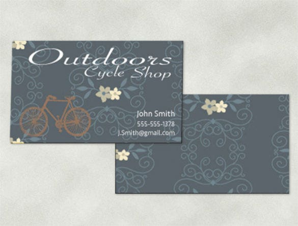 custom design business card template download