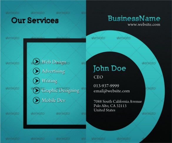 smart cool business card template psd layered format