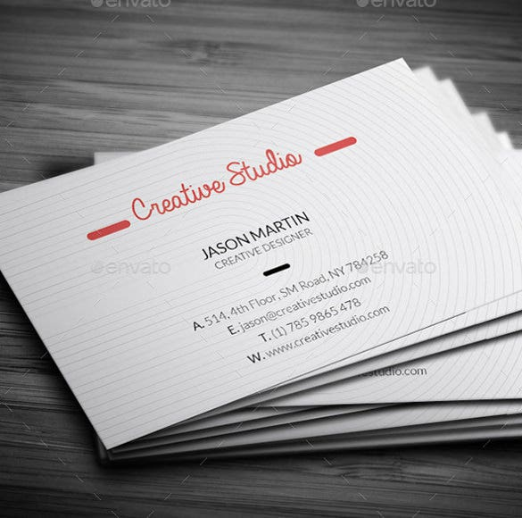 super cool industry business card template psd download