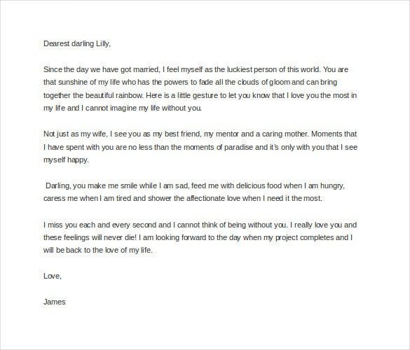 9 love letter templates to my wife pdf doc free premium justaguybrariantumblr your wife is the most important person in your life and you can write a beautiful letter telling her how special she is thecheapjerseys