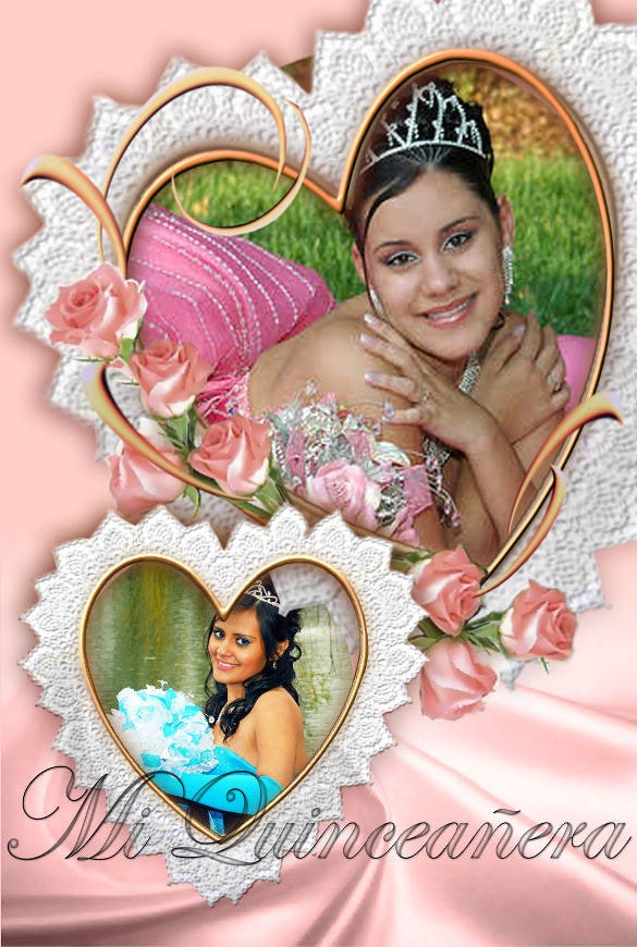 quinceaneras invitation for teenage girl