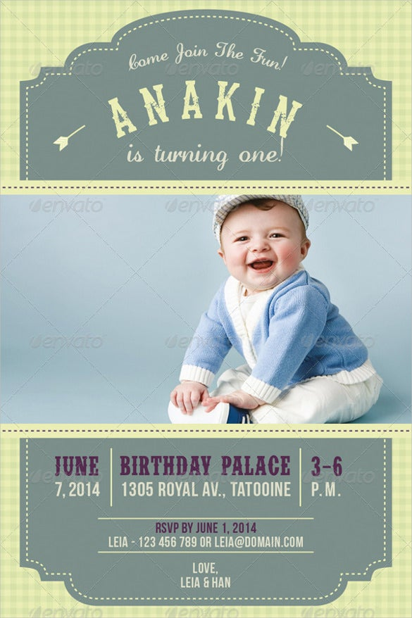 kid birthday invitation for boys and girls