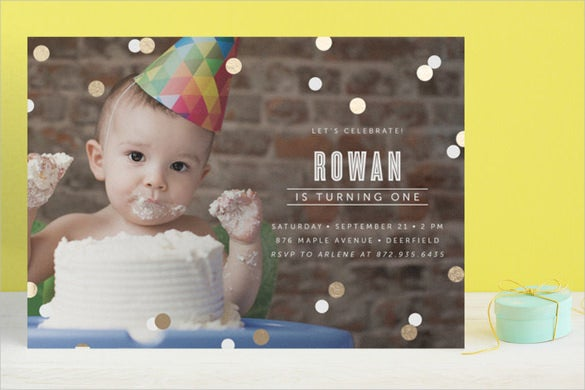 customizable kids birthday invitation
