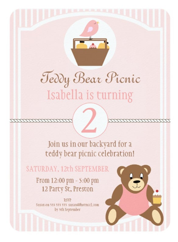 Picnic Invitation Template   Free Psd Vector Eps Ai Format