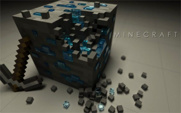 minecraft video game background