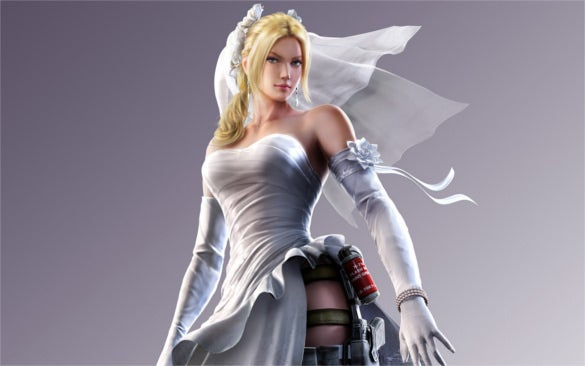 street fighter x tekken nina williams background