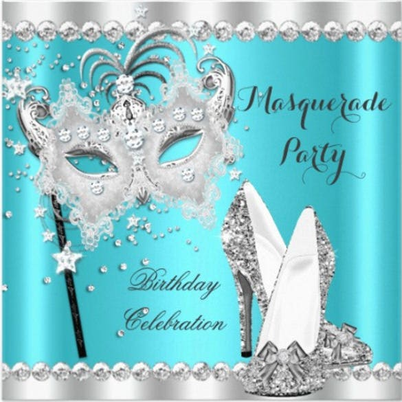 Masquerade Invitation Template – 24+ Free PSD, Vector EPS, AI ...