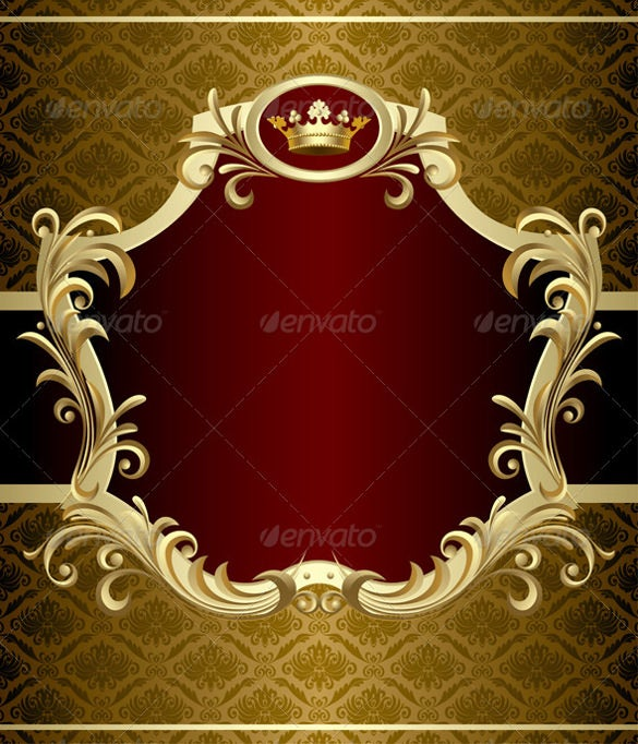 isolated raster gold banner background eps download