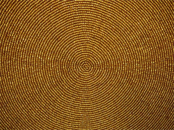 gold bead halo circle texture background download