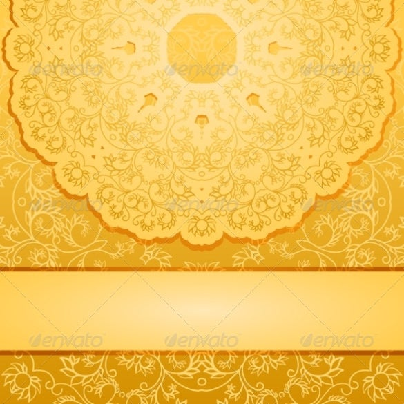 elegant gold background vector eps format