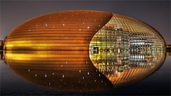 amazing golden building backgroudn free download