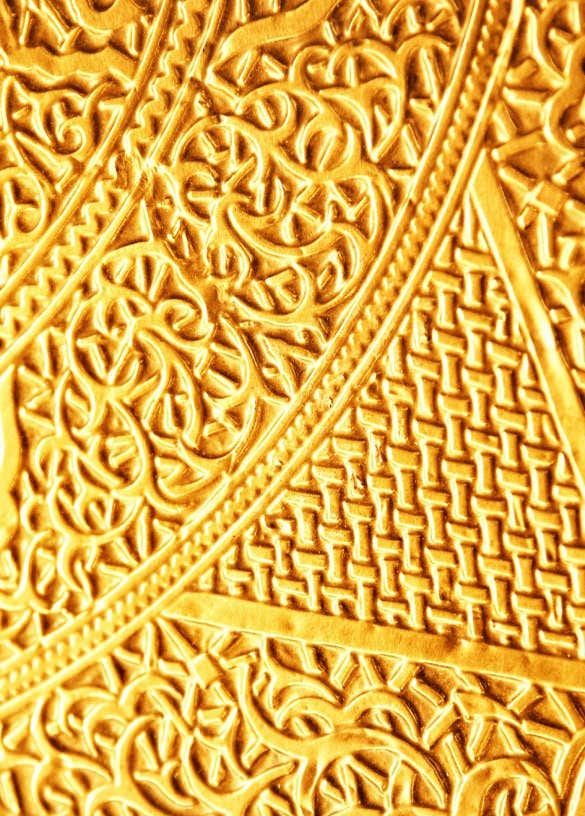 gold pattern ligature rune background for iphone