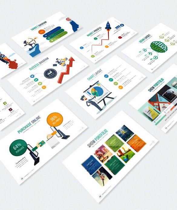 minalo business powerpoint template