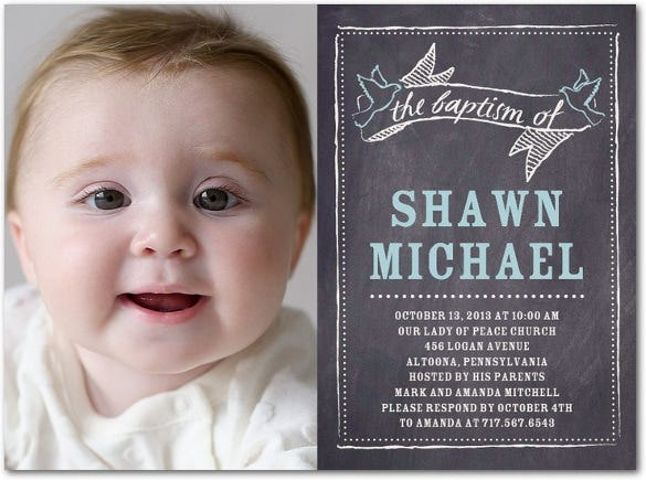 chalkboard cherish invitation