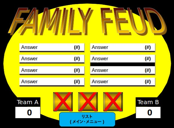 family feud powerpoint template � 8 free ppt pptx