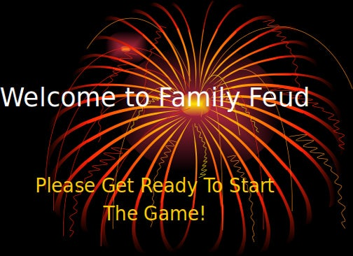 Family Feud Template Powerpoint