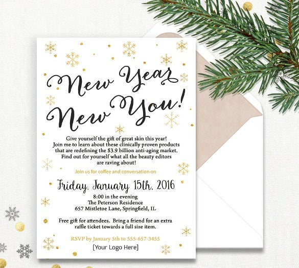 business party invitation diy printable