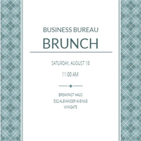 Charming Business Casual U2013 Printable Professional Event Invitation Template To Invites Template