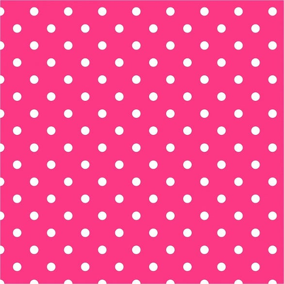 Background Polka Dots Fuschia Pink