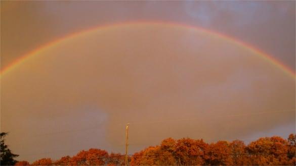 wv rainbow free desktop background download