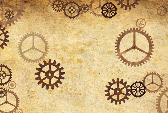 free steampunk twitter background