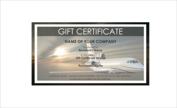 Travel gift certificate templates 8 free word pdf psd aeoraplane travel gift certificate pdf free download yadclub Gallery