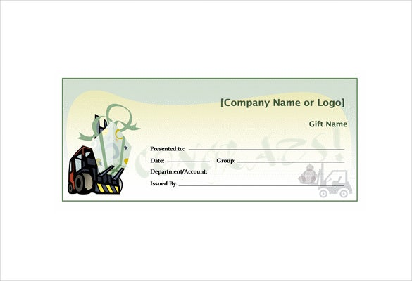travel gift certificate word free download