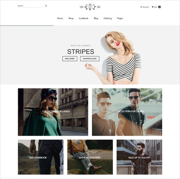 hope responsive ecommerce bootstrap html5 template