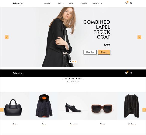 réveille premium responsive shopify theme