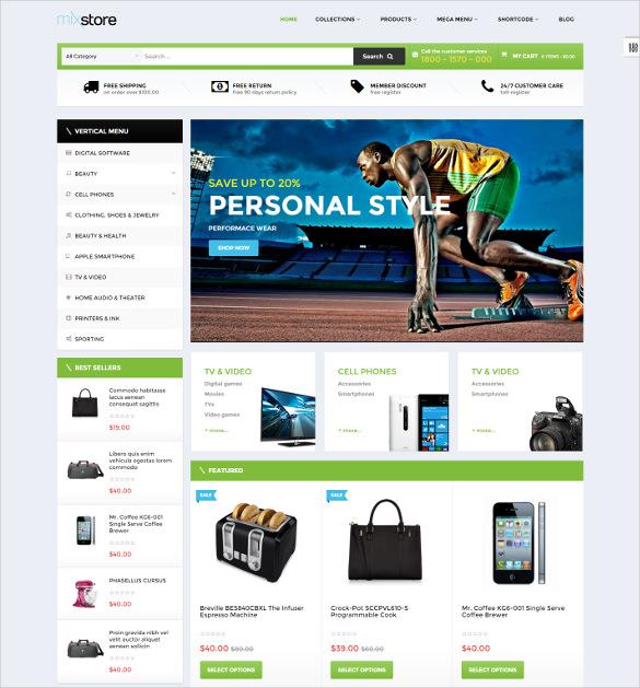 ap mixstore shopify html5 theme