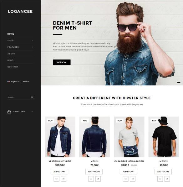 logancee multipurpose responsive prestashop ecommerce theme