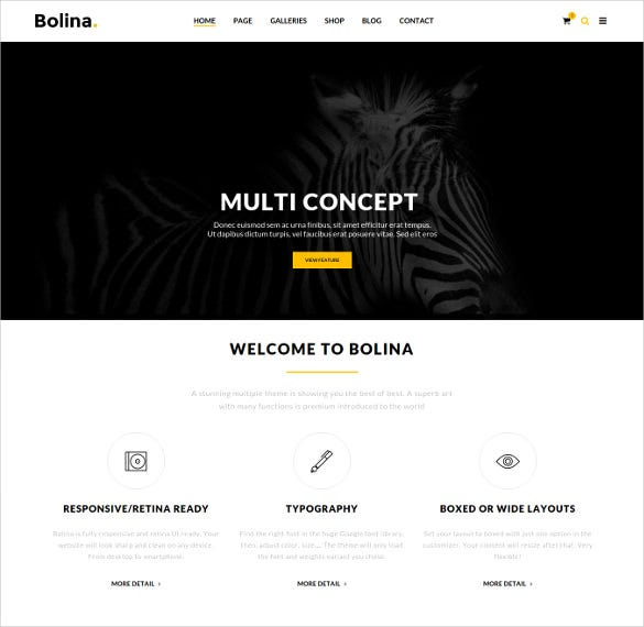 bolina trendy stylist wordpress ecommerce theme