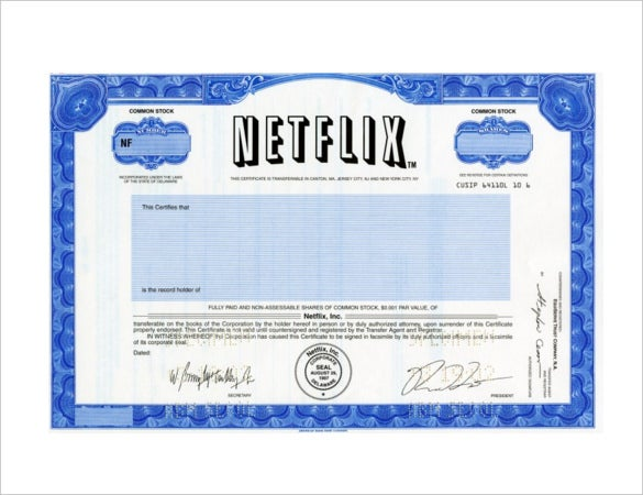 Netflix gift certificate template 5 free jpeg documents download simple netflix gift certificate template yadclub Image collections