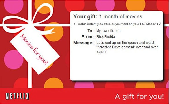 beautiful netflix gift certificate template