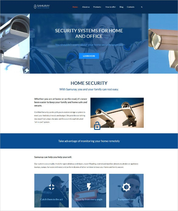 samuray wordpress theme