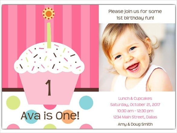 personalized birthday invitation for small kids