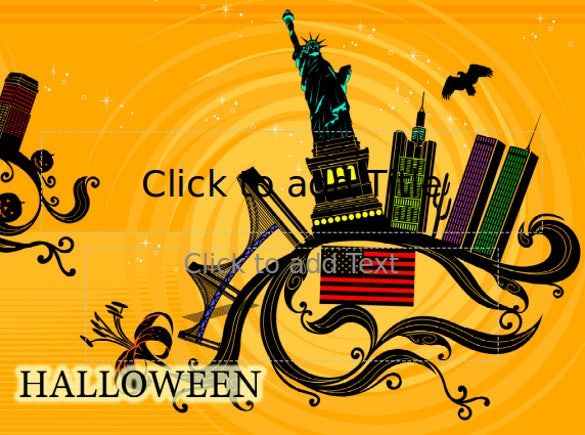 free halloween powerppoint template download